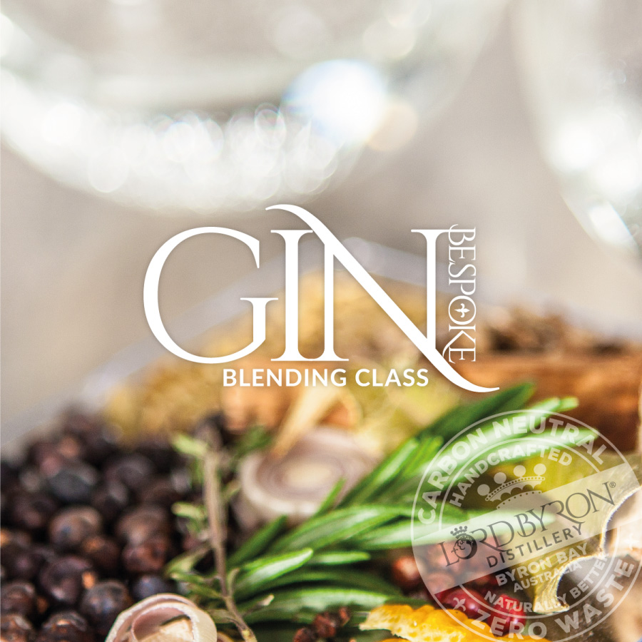 Lord Byron Distillery Gin Blending Class Logo