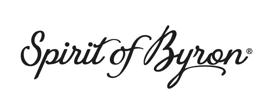 Lord Byron Distillery Spirit Of Byron Logo Design