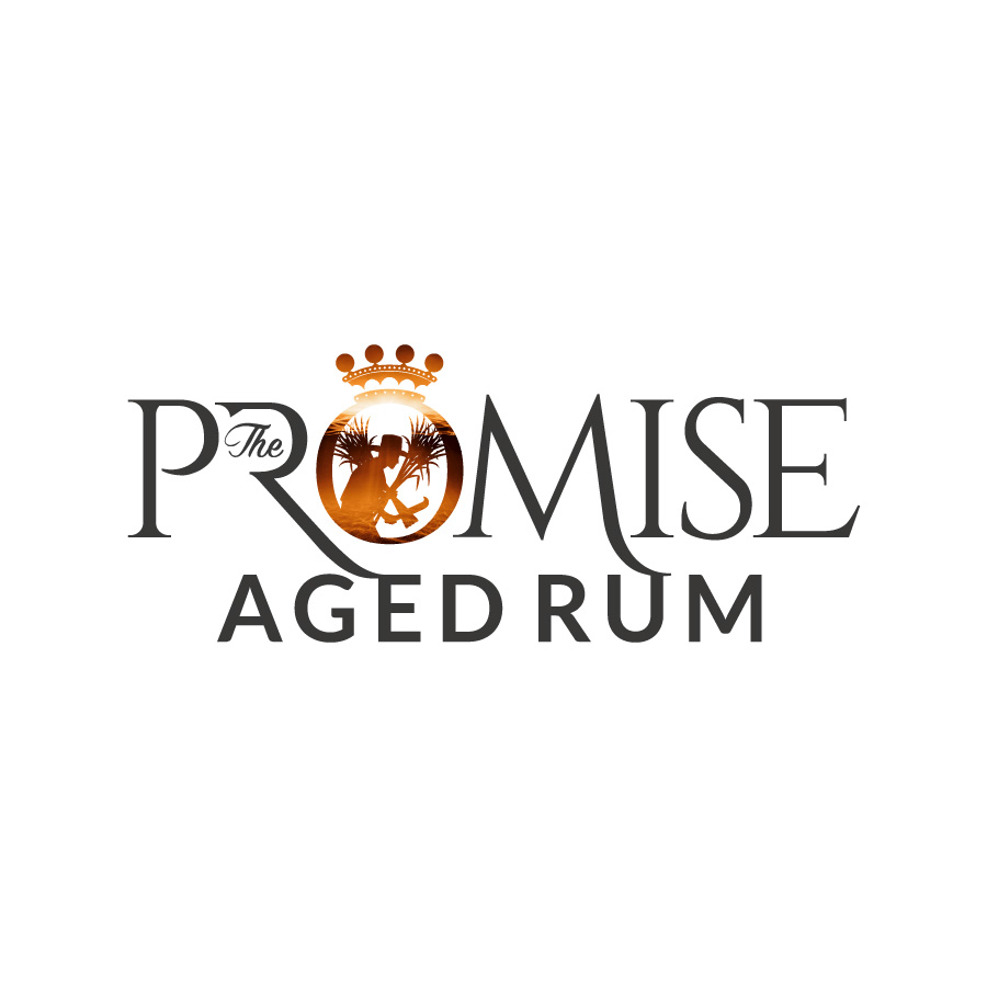 Lord Byron Distillery The Promise Rum Logo Design