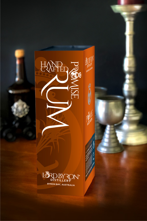 The Promise Rum packaging design and renders