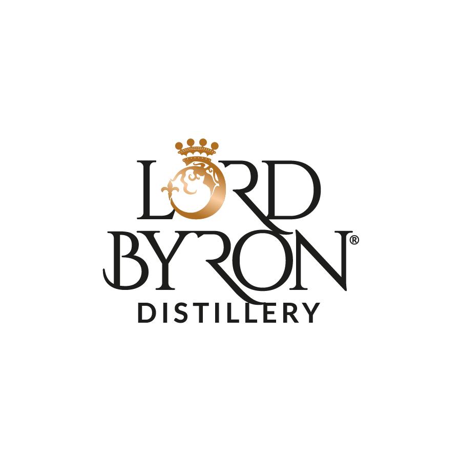 Lord Byron Distillery Logo Design