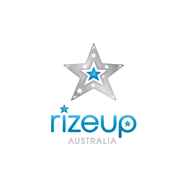 Rizeup Australia Logo Design