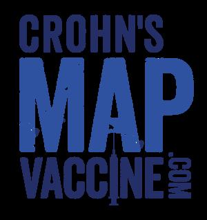 Crohn's MAP Vaccine Logo by Julie McCombe