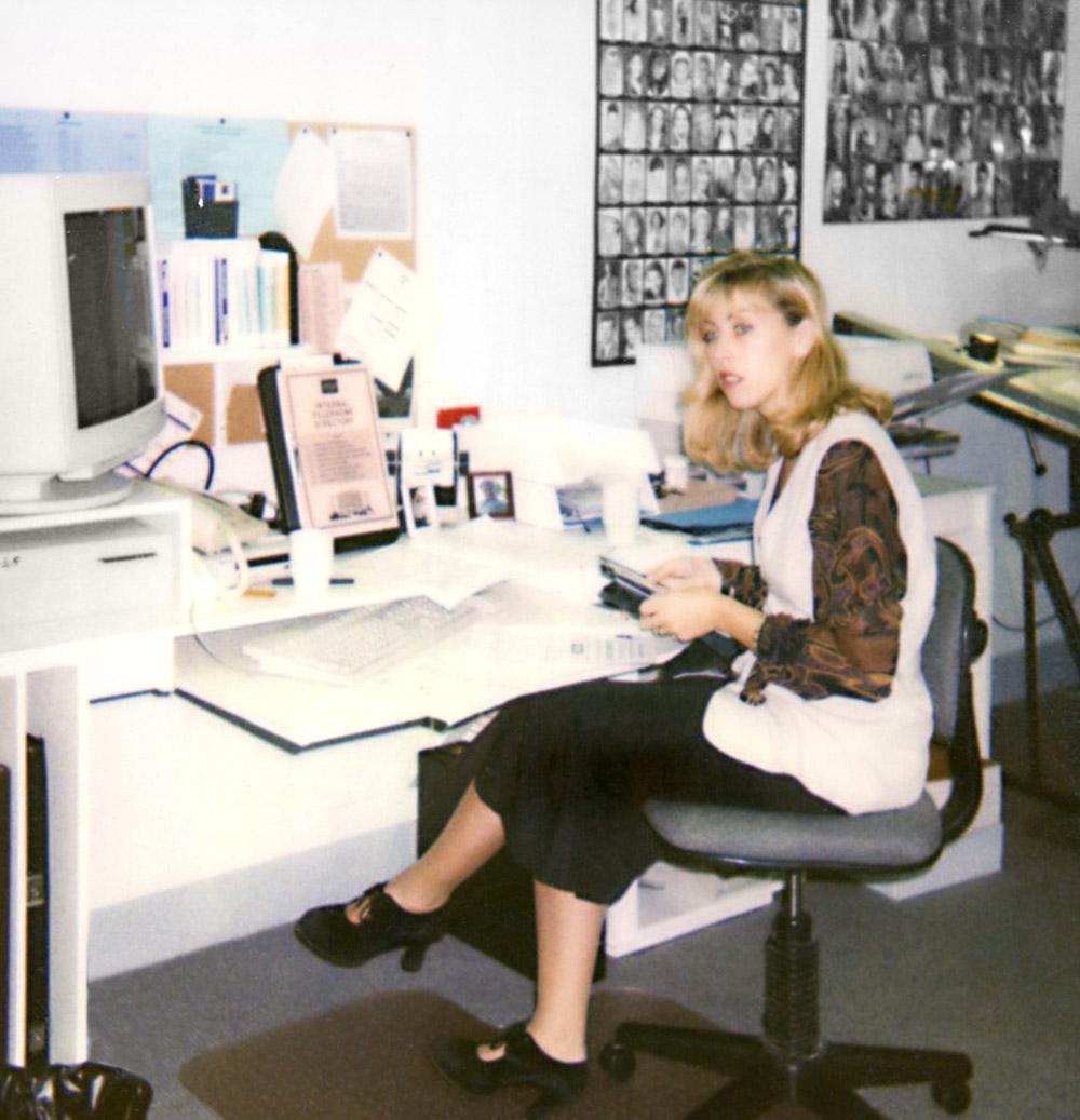 Julie McCoy at Conrad Jupiters in 1990