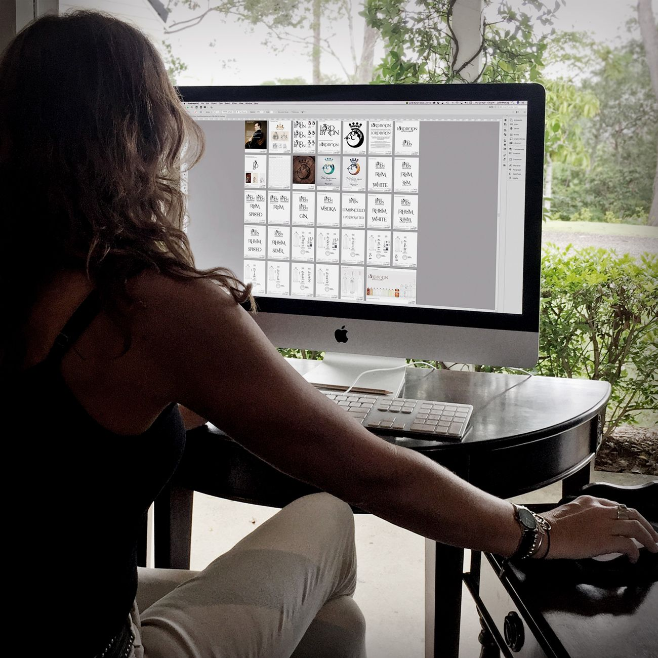 Julie McCombe, Brand Developer to Lord Byron Distillery 2016
