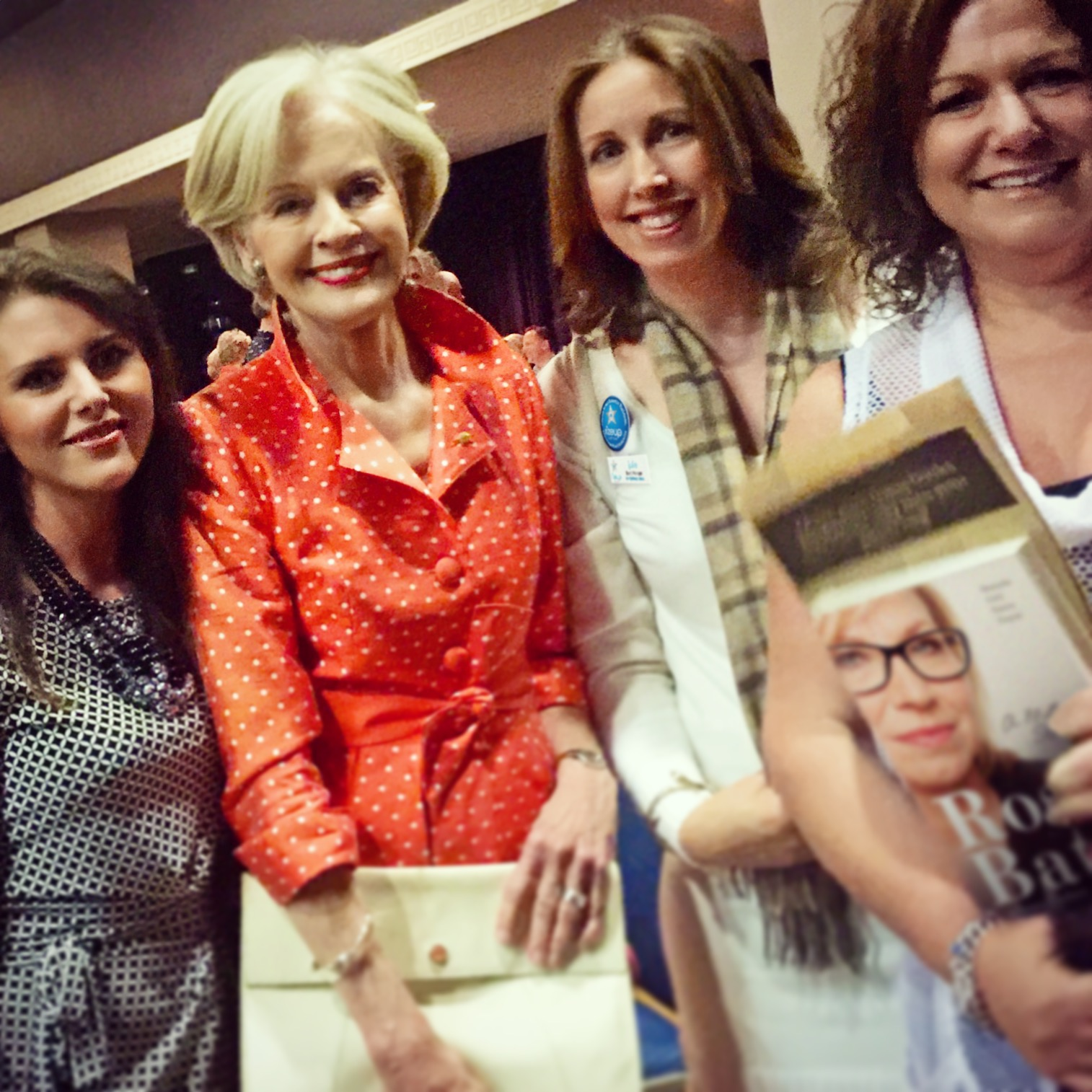 Julie McCombe (McCoy) with Rize Up Australia and Dame Quentin Bryce
