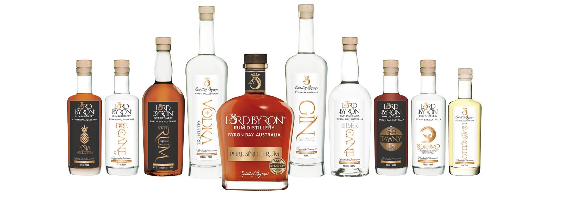 The Lord Byron Distillery Range 2021