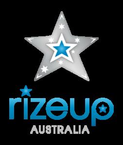 Rize Up Australia logo by Julie McCoy (McCombe)