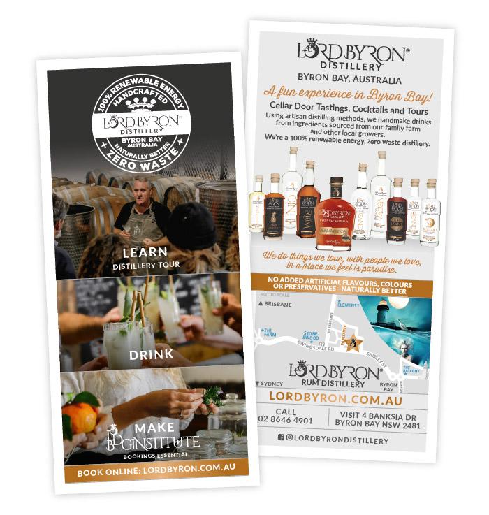 Lord Byron Distillery Flyers