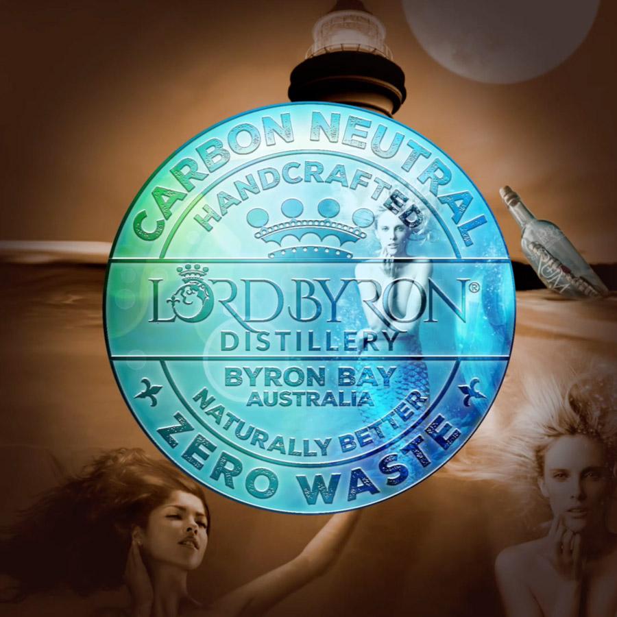 Lord Byron Distillery Carbon Neutral Badge