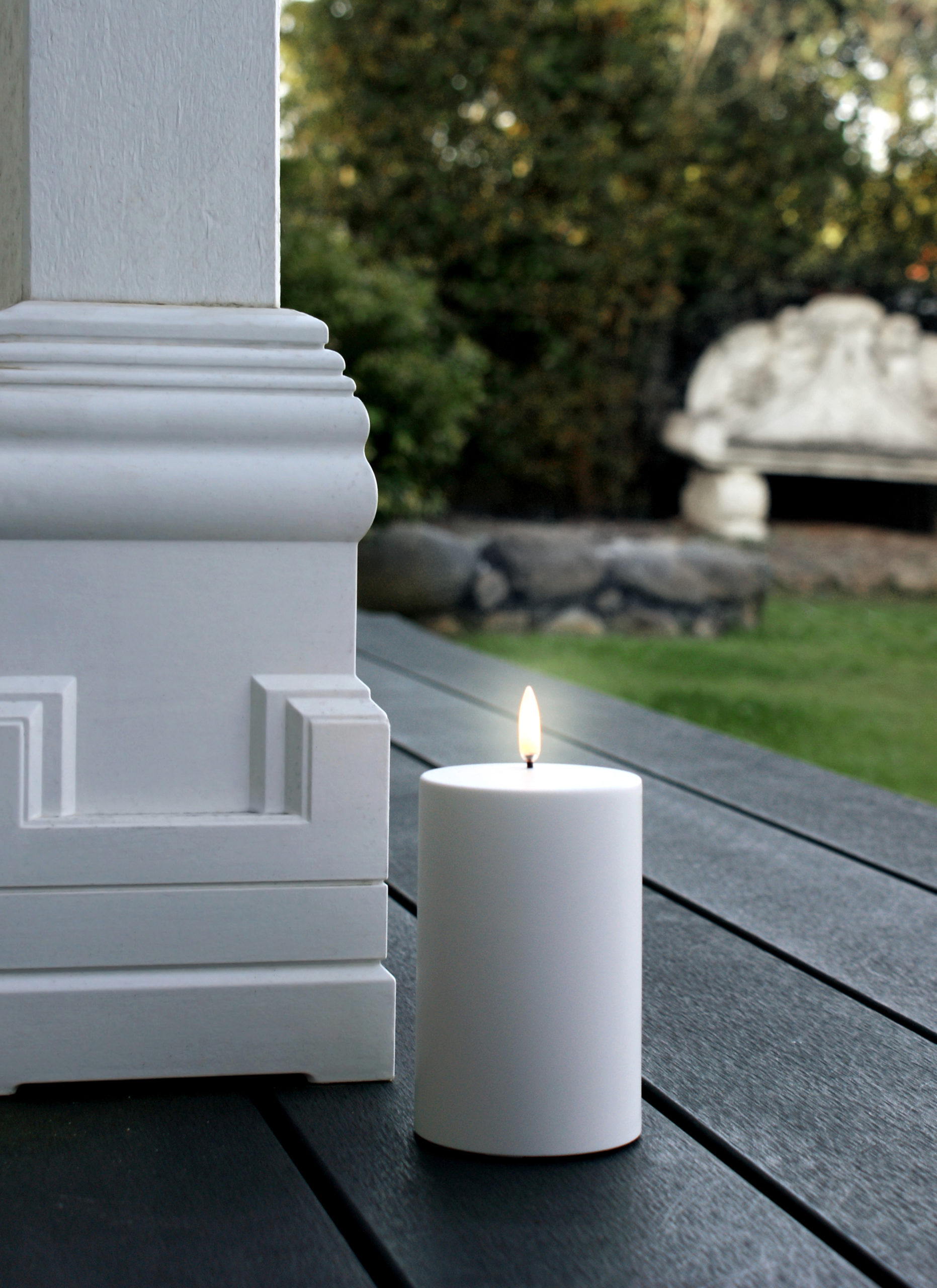 Enjoy Living Photography Outdoor Flameless Candle Deck
