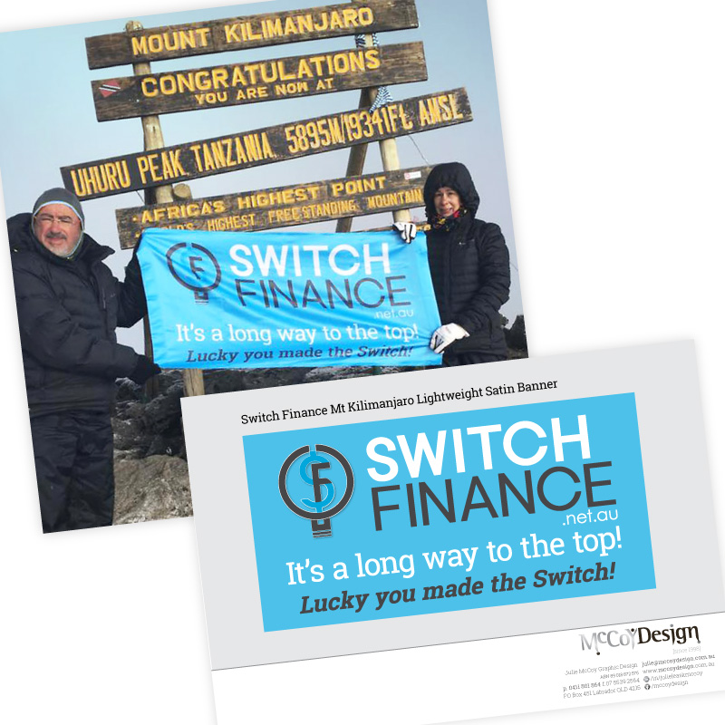 Switch Finance A Long Way To The Top of Mt Kilimanjaro