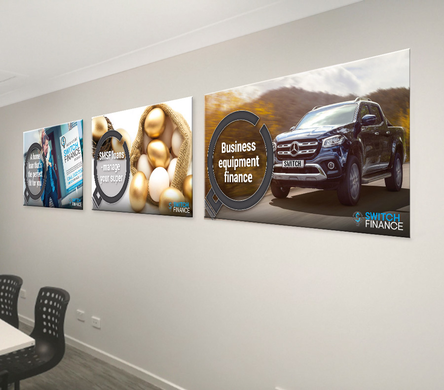 Switch Finance Boardroom Posters