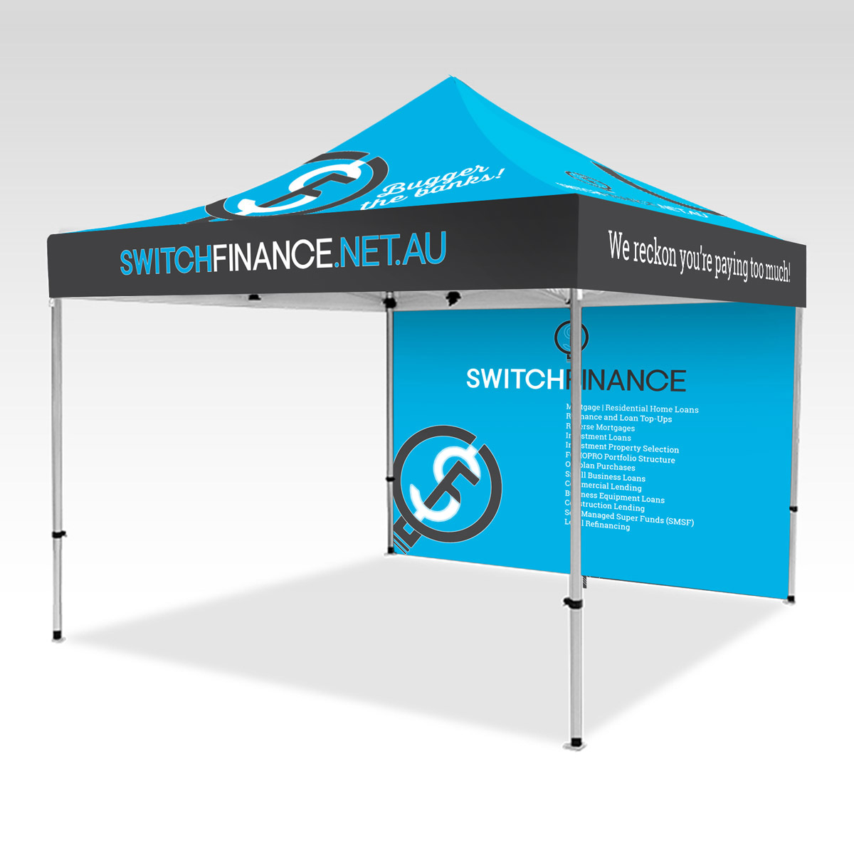 Switch Finance Marquee
