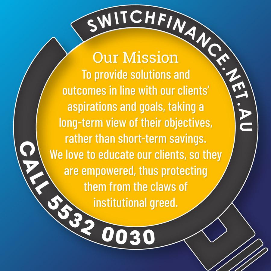 Switch Finance Mission Statement