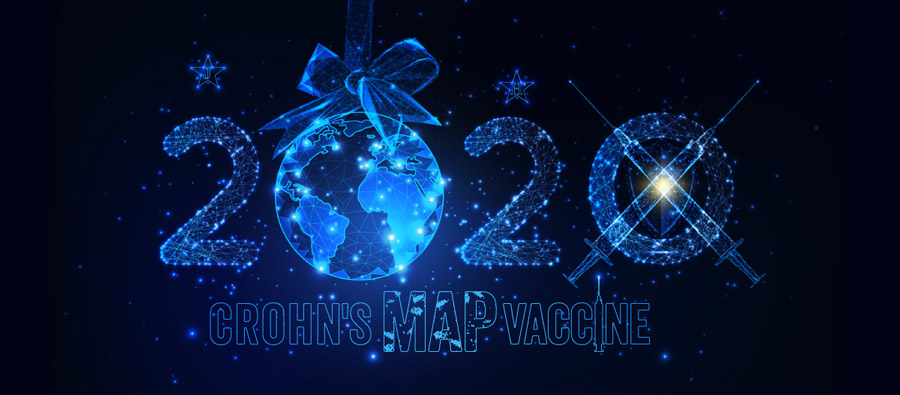 Crohn's MAP Vaccine 2020 New Year Campaign Cover Pic