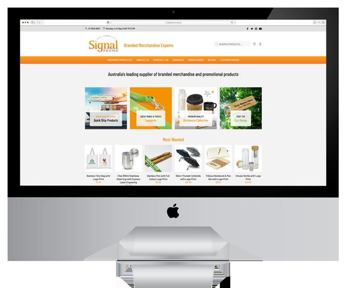 Signal Promo Website Design