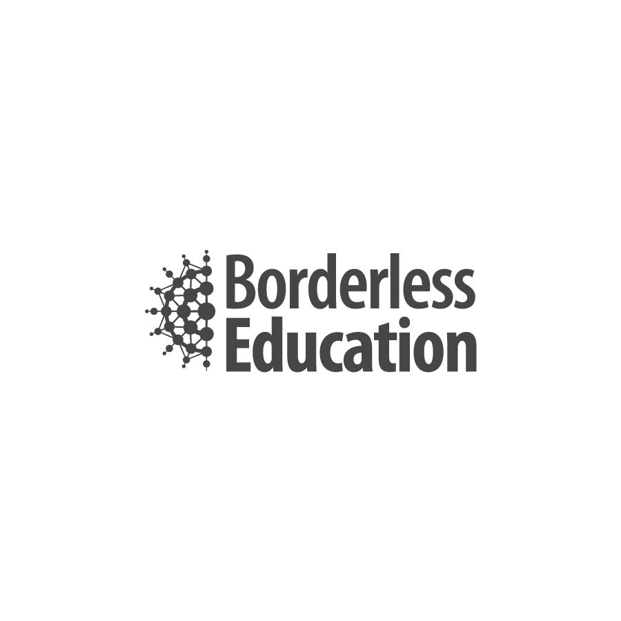 Borderless Education Logo Design