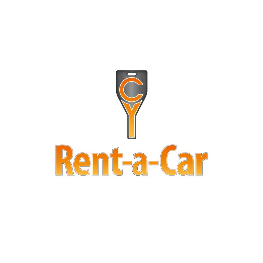 CY Rent A Car  Logo Design