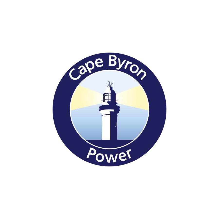 Cape Byron Power Logo Design