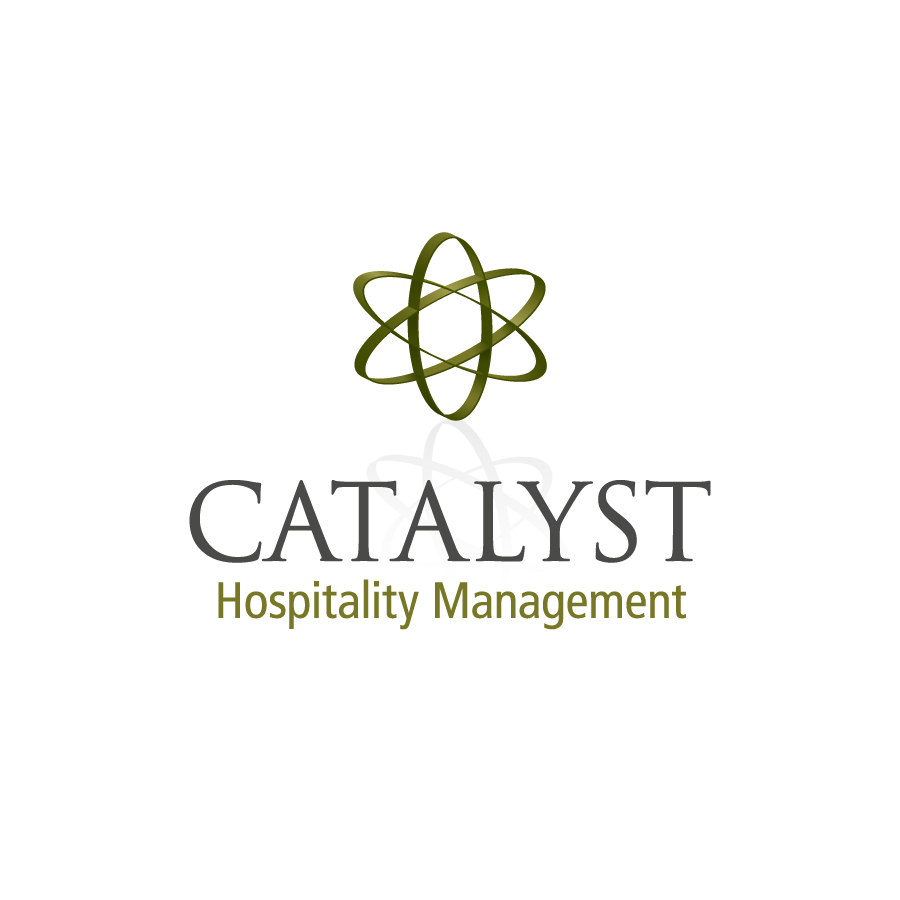 Catalyst Hospitality Management Logo Design