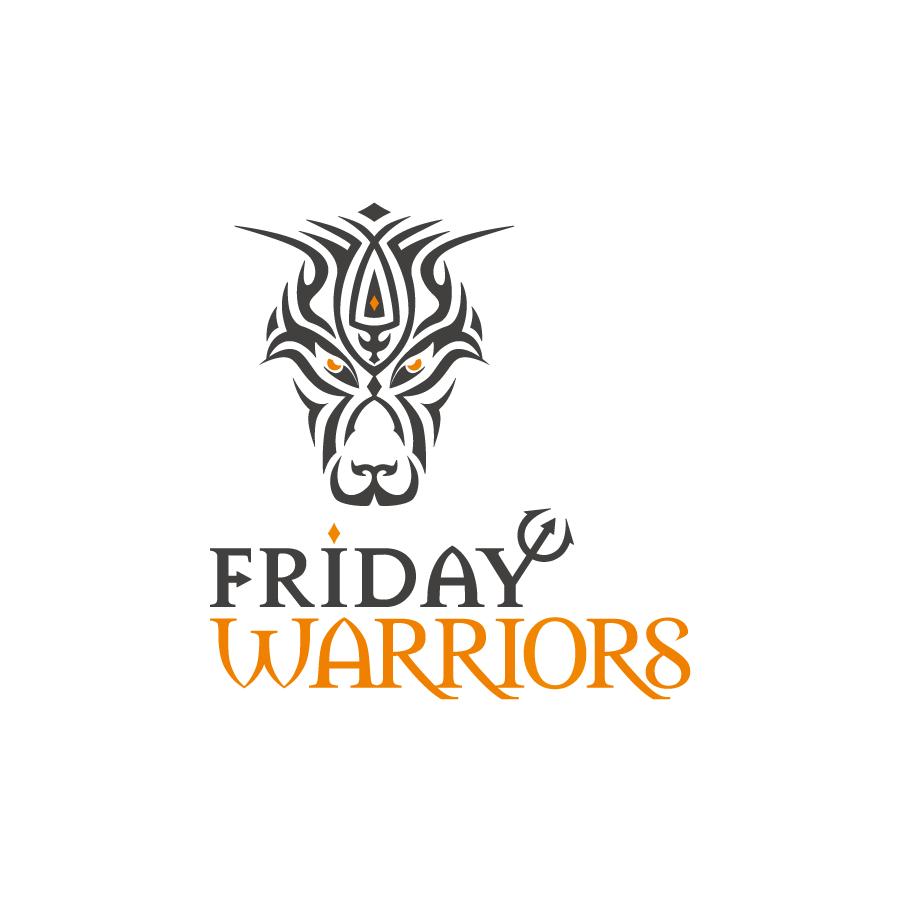 Friday Warriors Logo Design