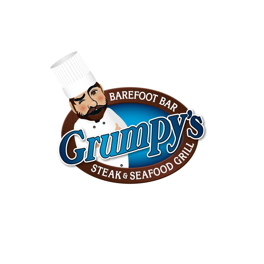 Grumpys Logo Design