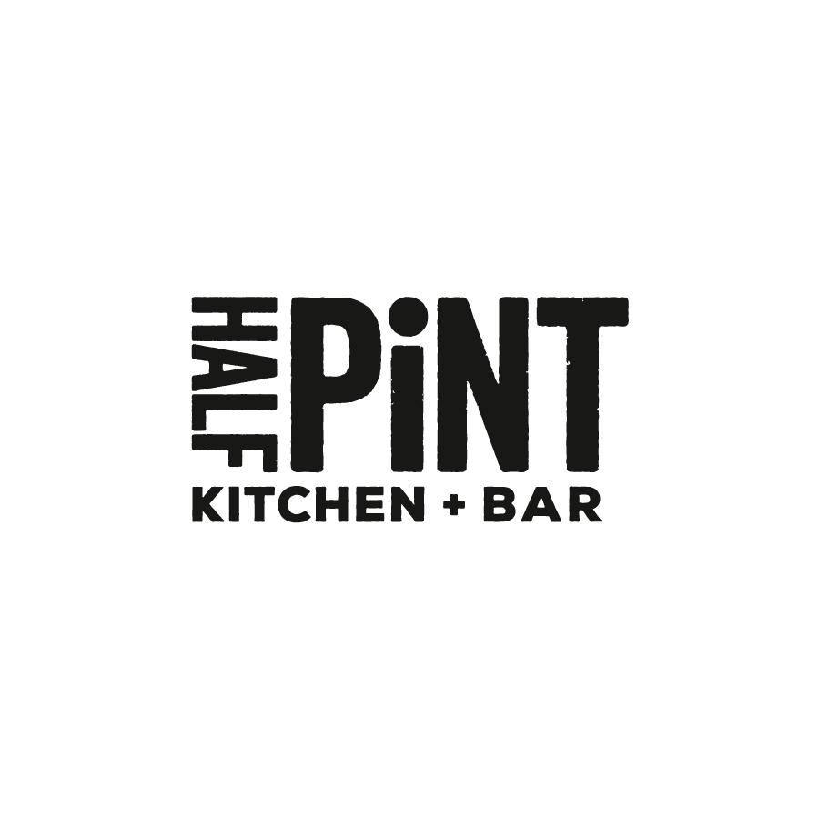 Half Pint Kitchen and Bar Bowen Hills Logo Design