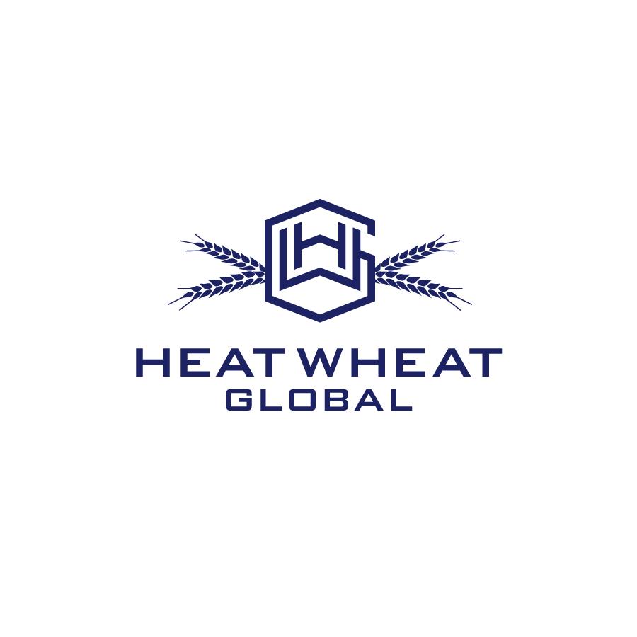Heat Wheat Global Logo Design