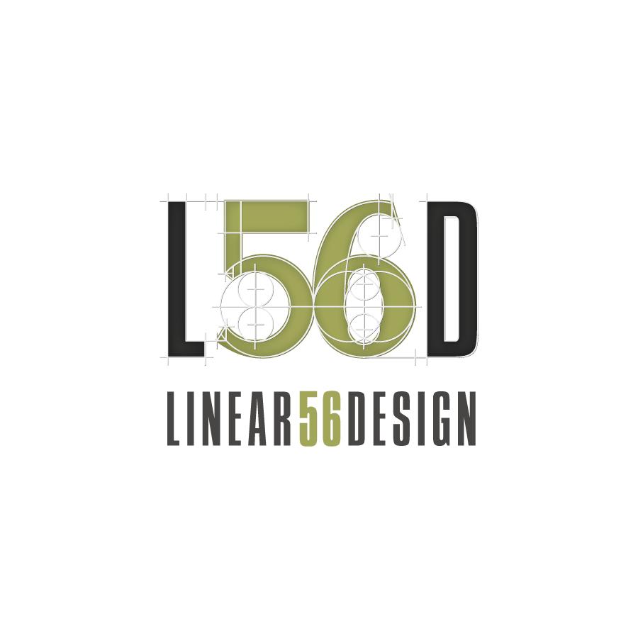 L56D Linear 56 Design Logo Design