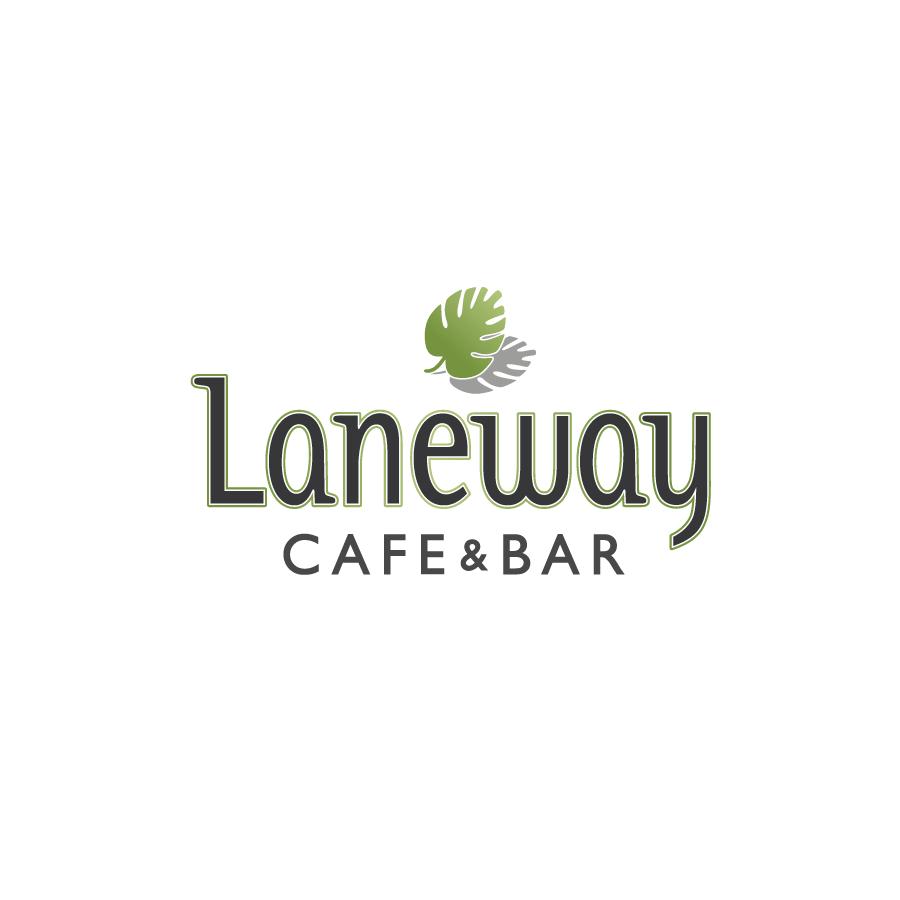 Laneway Cafe Logo Design