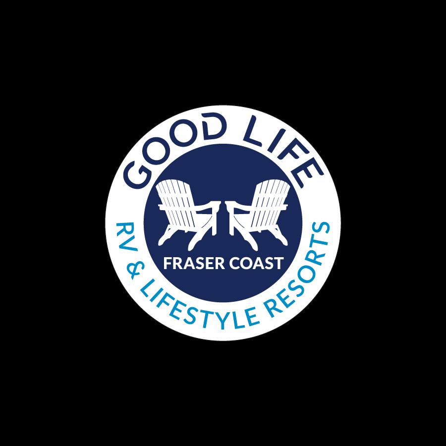 Good Life Badge Logo Design