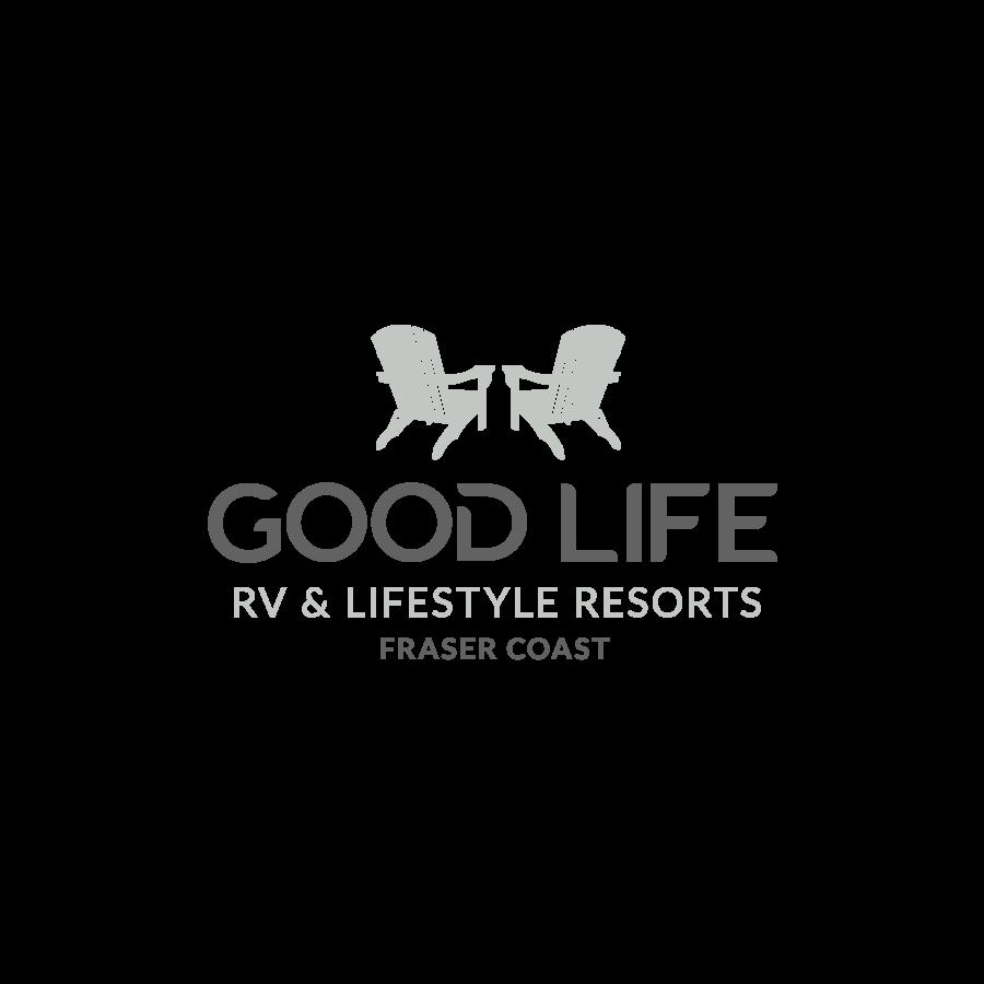 Good Life Lifestyle Resorts Logo Design