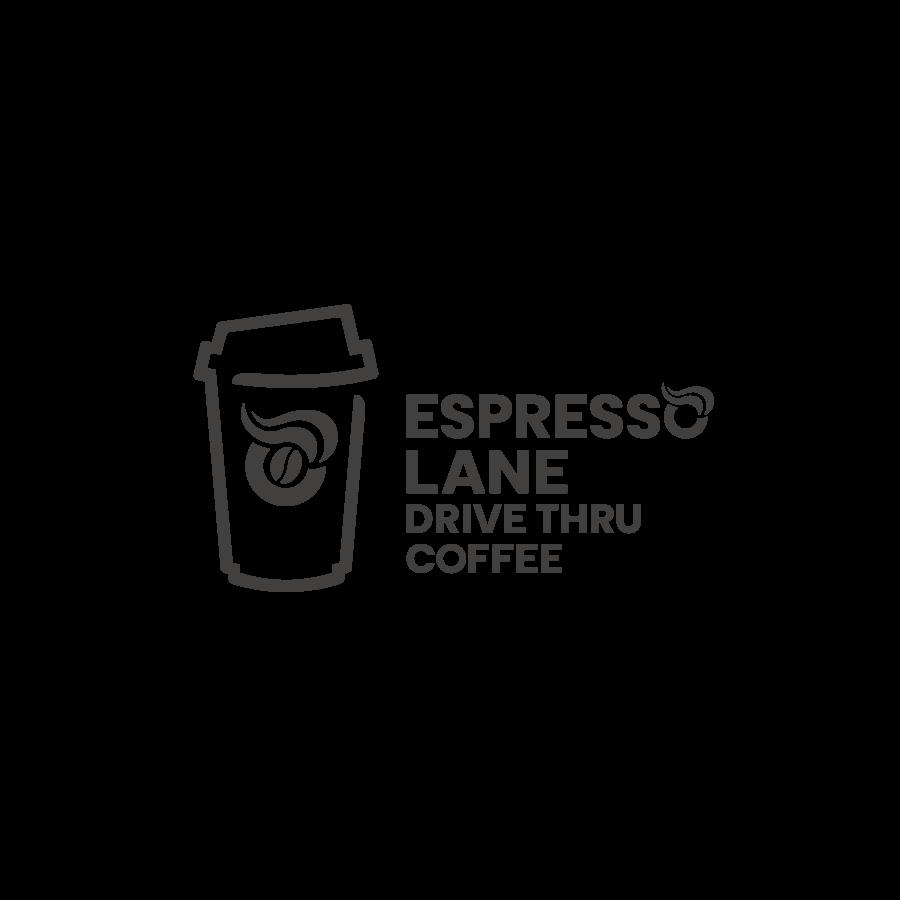 Espresso Lane Coffee Logo Design