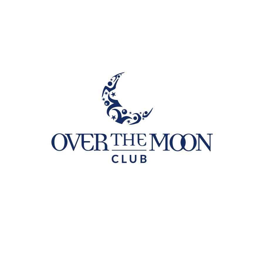 Over The Moon Club Logo Design